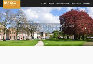 Website bbnox.nl desktop preview