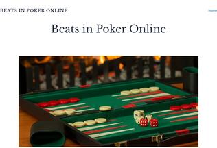 Website beats-in-poker-online.yolasite.com desktop preview