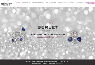 Website berlet.fr desktop preview