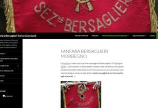 Website bersaglierimorbegno.it desktop preview
