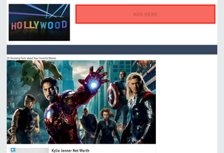 Website best-10-hollywood.blogspot.com desktop preview