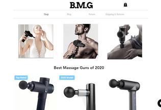 Website bestmassagegun.net desktop preview
