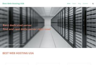 Website bestwebhostingusa.net desktop preview