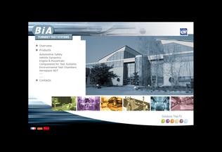 Website bia.fr desktop preview