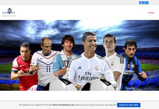 Website biayabolaonline.page.tl desktop preview