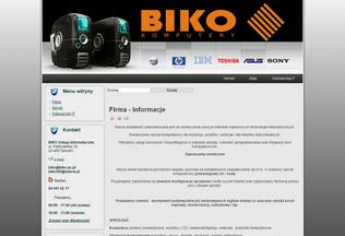 Website biko-pc.pl desktop preview