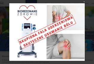 Website biorezonans-zdrowie.pl desktop preview