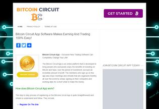 Website bitcoincircuitapp.net desktop preview