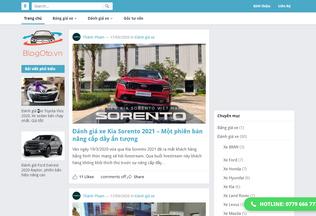 Website blogoto.vn desktop preview