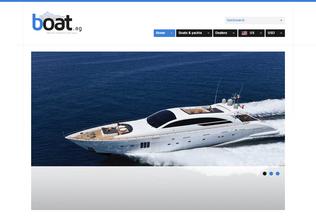 Website boat.ag desktop preview