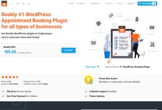 Website bookly.info desktop preview