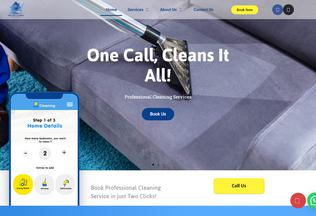 Website brilliantcleaning.ae desktop preview