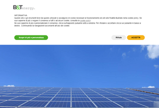 Website btenergy.it desktop preview