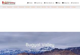 Website bugyalvalley.com desktop preview