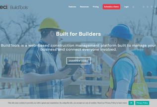 Website buildtools.com desktop preview
