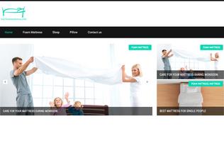 Website buyfoammattress.com desktop preview