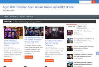 Website buzzblocker.biz desktop preview