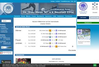 Website bw-fussballer.de desktop preview