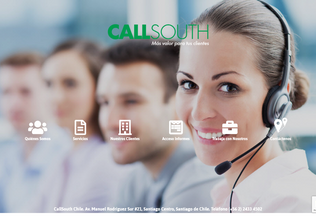 Website callsouth.cl desktop preview