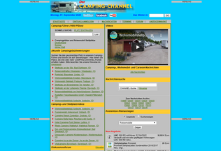 Website camping-channel.at desktop preview
