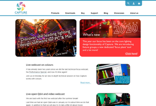 Website capture.se desktop preview