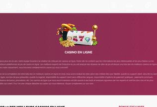 Website casinoenlignefr.net desktop preview