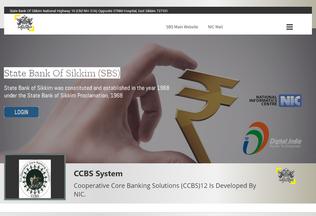 Website ccbs.nic.in desktop preview