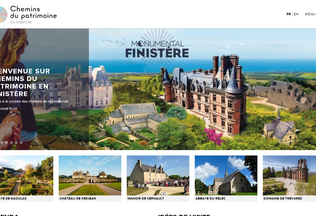 Website cdp29.fr desktop preview