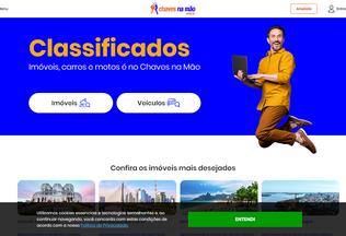 Website chavesnamao.com.br desktop preview