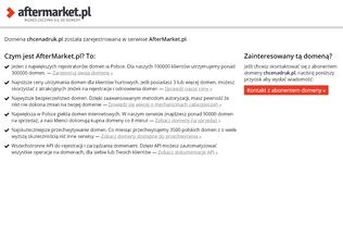 Website chcenadruk.pl desktop preview