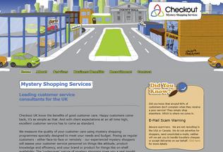 Website checkoutuk.co.uk desktop preview