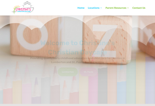 Website christines.us desktop preview