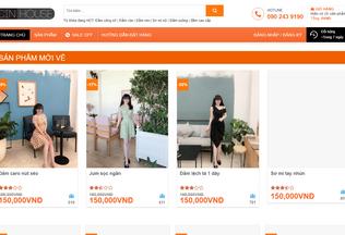 Website cinhouse.vn desktop preview