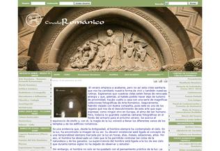 Website circulo-romanico.com desktop preview