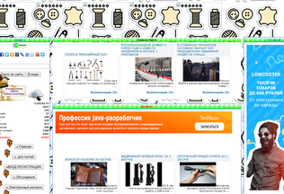 Website cjyz.ru desktop preview