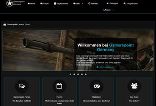Website clan-gamerspoint.de desktop preview