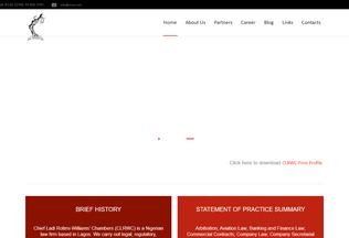 Website clrwc.com desktop preview