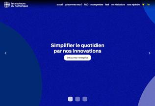 Website cngroup.fr desktop preview