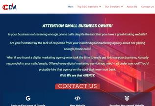 Website coasttocoastdigitalmarketing.com desktop preview