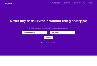 Website coinapple.net desktop preview