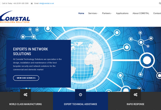 Website comstal.co.uk desktop preview