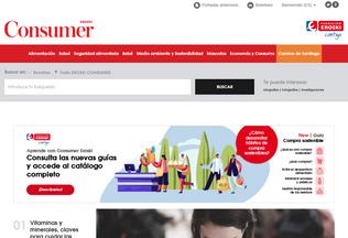 Website consumer.es desktop preview