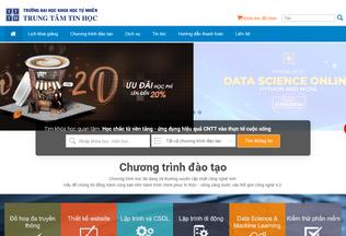 Website csc.edu.vn desktop preview
