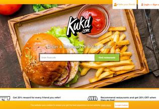 Website curriesonline.co.uk desktop preview