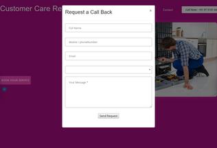 Website customercare-24x7.in desktop preview