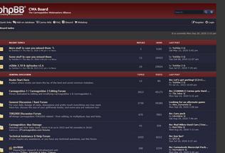 Website cwaboard.co.uk desktop preview