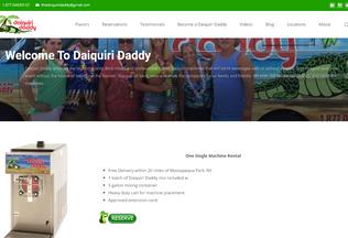 Website daiquiridaddy.com desktop preview