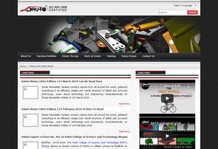 Website dauto.co.in desktop preview
