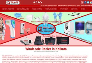 Website dealerkolkata.com desktop preview