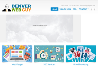 Website denverwebguy.com desktop preview